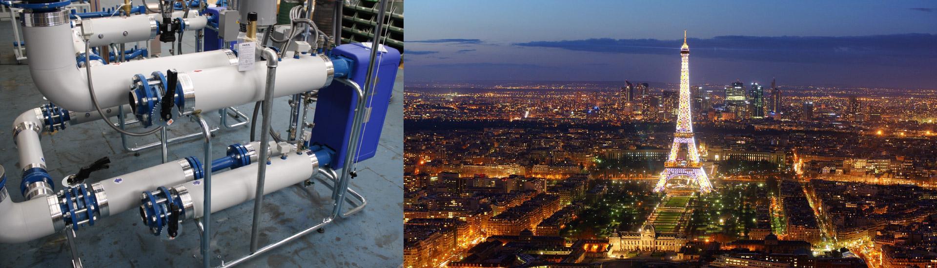 AMARC DHS HEATS SOME DISTRICT IN PARIS